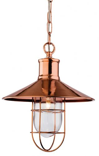Firstlight 2306CP Copper Crescent Pendant